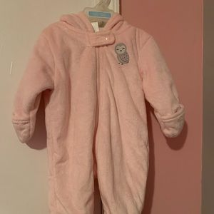 Infant winter coverall